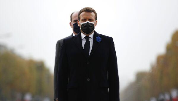 Emmanuel Macron et Jean Castex, archives - Sputnik France