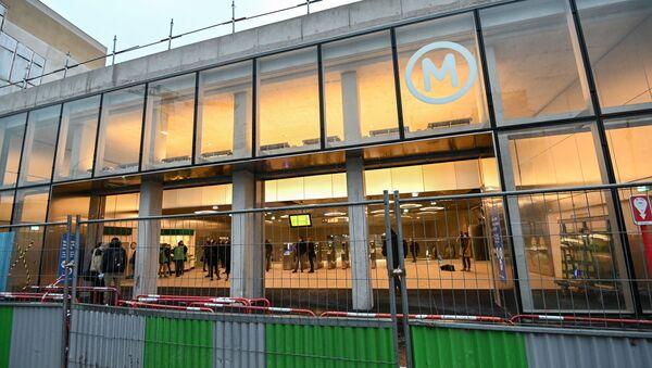 La nouvelle station du métro parisien Mairie de Saint-Ouen - Sputnik France