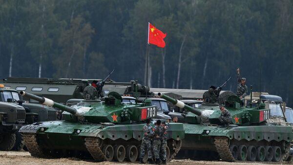 Des chars chinois Type 96 - Sputnik France