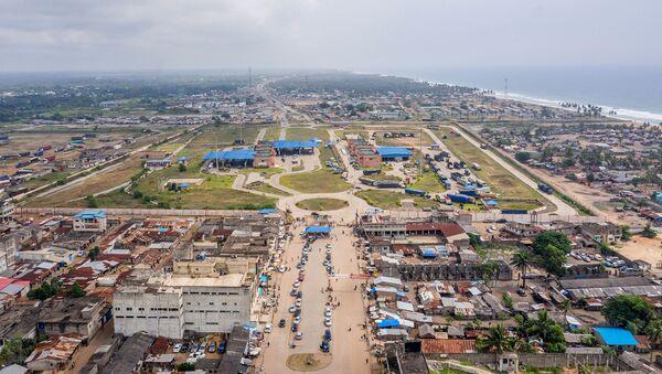 La frontière Bénin-Nigeria - Sputnik France