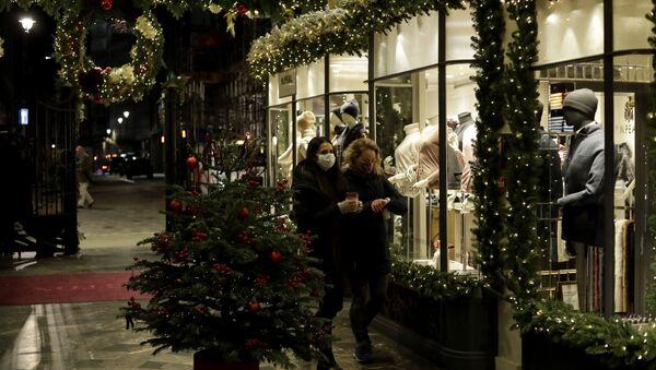 Londres à l'approche de Noël - Sputnik France