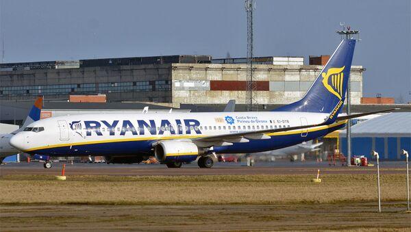 Un avion de Ryanair à l'aéroport de Tallinn (archive photo) - Sputnik France