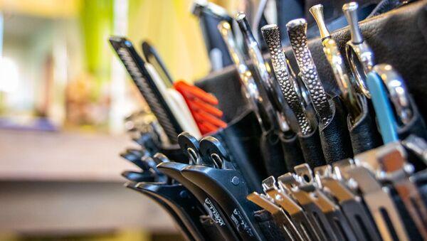 Des instruments d'un coiffeur  - Sputnik France