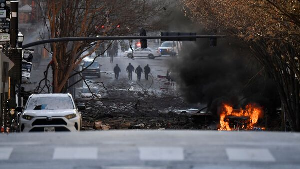 Explosion à Nashville, le 25 décembre 2020 - Sputnik France