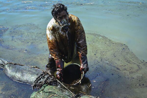 Déversement de pétrole au large de l'île Maurice - Sputnik France