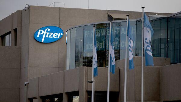 L'usine Pfizer de Puurs, en Belgique (novembre 2020) - Sputnik France