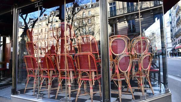 Mesures restrictives à Paris - Sputnik France