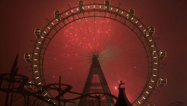 Feux d'artifice à Vienne (archive photo) - Sputnik France