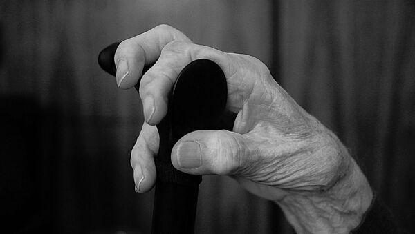 Une personne âgée, image d'illustration - Sputnik France