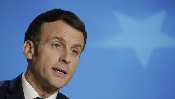 Emmanuel Macron (photo d'archives) - Sputnik France