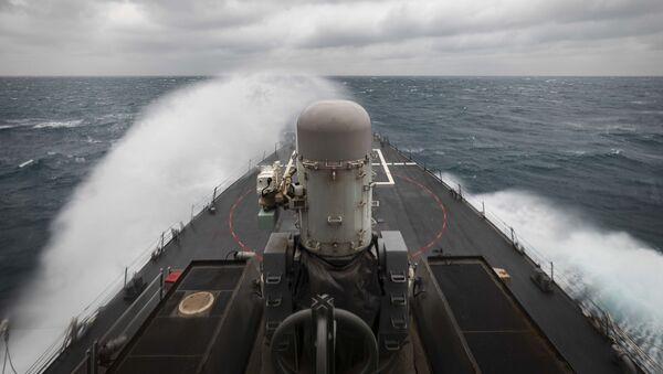 USS John S. McCain dans le détroit de Taïwan - Sputnik France