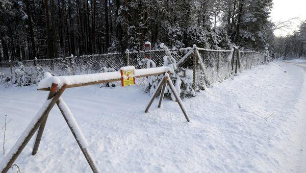 Frontière entre l'Estonie et la Russie à Lutepaa (archive photo) - Sputnik France