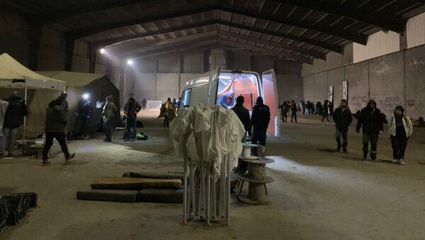 Lieu de la fête sauvage qui a réuni 2.400 personnes au sud de Rennes à l'occasion du Nouvel An - Sputnik France