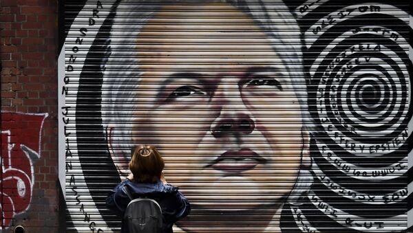 Portrait de Julian Assange - Sputnik France
