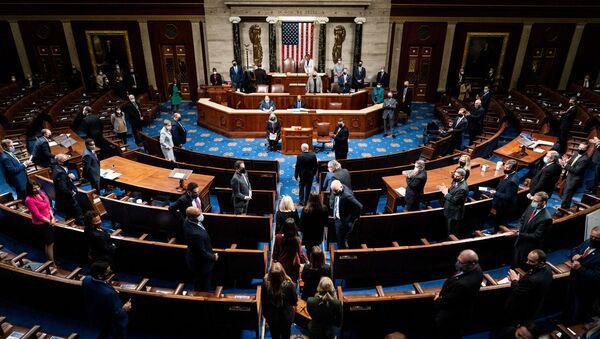 session du Congrès le 6 janvier 2021 - Sputnik France