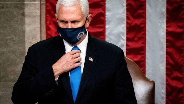 Le vice-Président Mike Pence  - Sputnik France