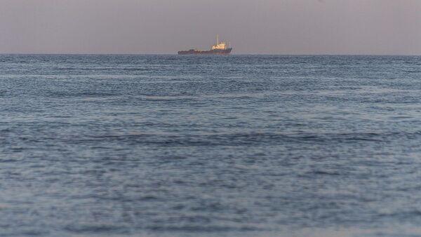 Un navire dans le golfe Persique, image d'illustration  - Sputnik France