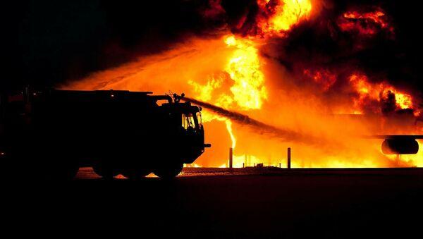 Un camion de pompiers - Sputnik France