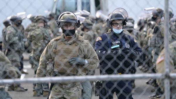 Soldats de la Garde nationale à Washington (archive photo) - Sputnik France