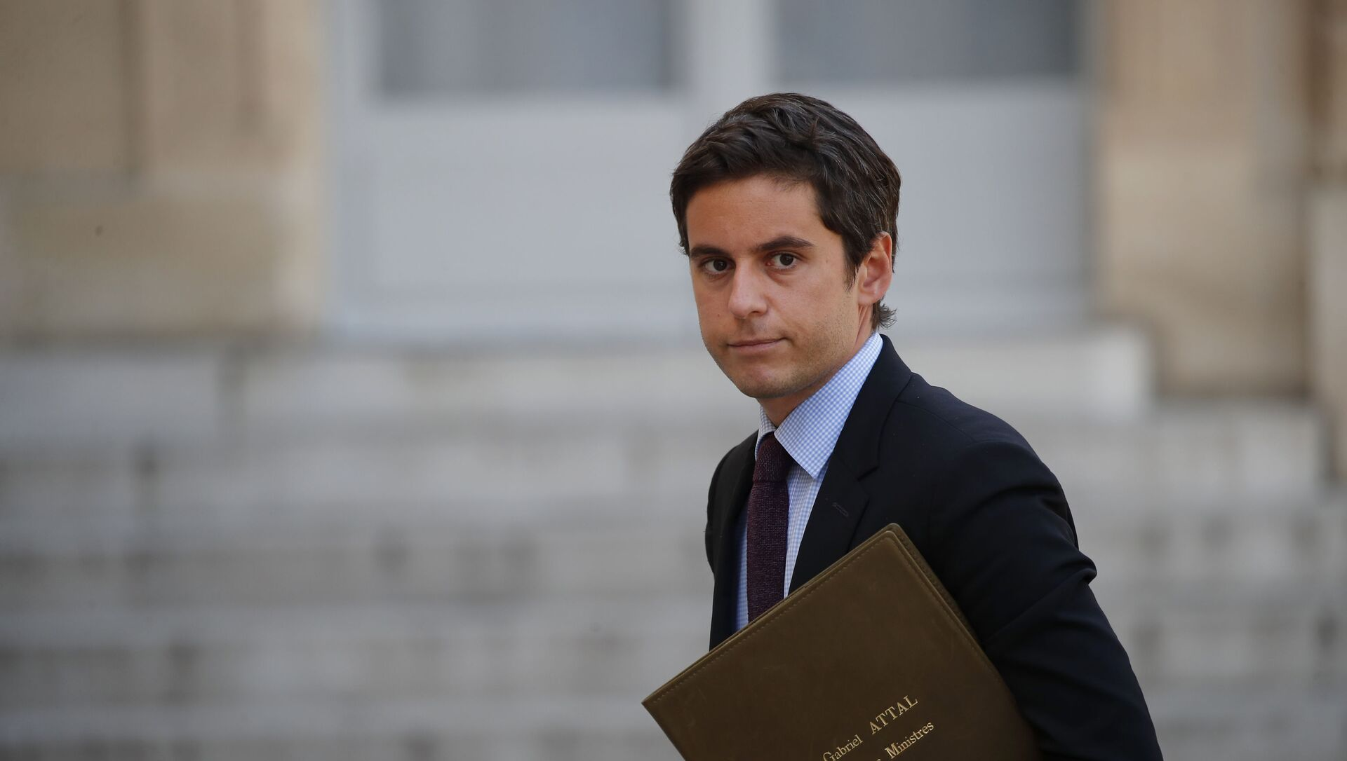 Gabriel Attal, porte-parole du gouvernement  - Sputnik France, 1920, 21.03.2021