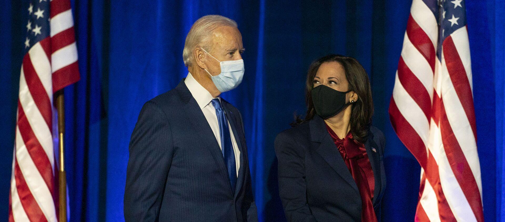 Joe Biden et Kamala Harris - Sputnik France, 1920, 19.03.2021