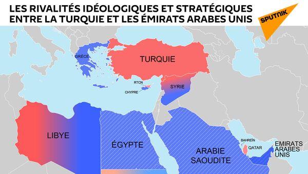 Les rivalités idéologiques et stratégiques entre la Turquie et les Émirats arabes unis - Sputnik France