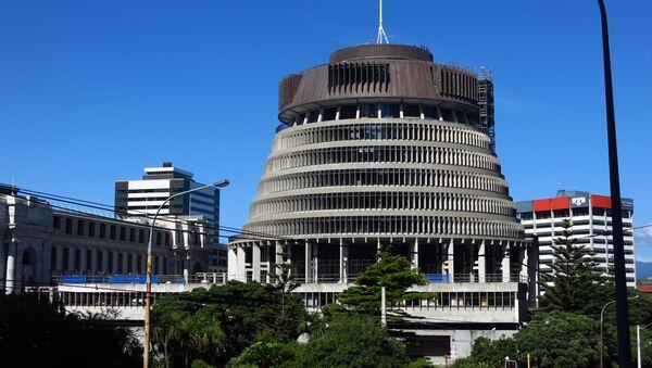 Siège du parlement néozélandais à Wellington - Sputnik France