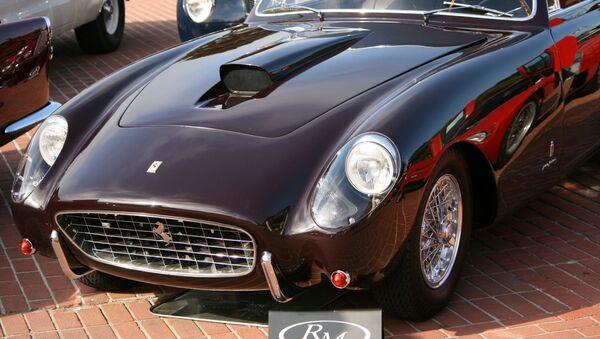 Une Ferrari 375 America Coupé - Sputnik France