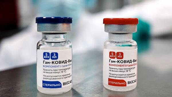 Vaccin Spoutnik V fabriqué à Saint-Pétersbourg - Sputnik France