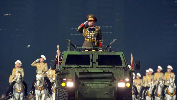 Grand défilé militaire à Pyongyang   - Sputnik France