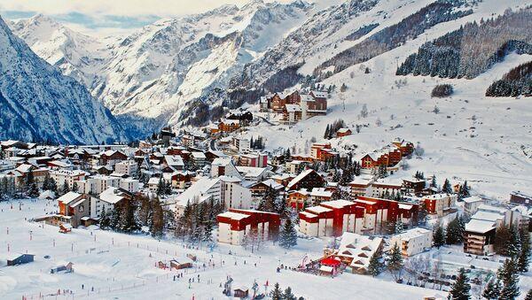 Une station de ski française - Sputnik France