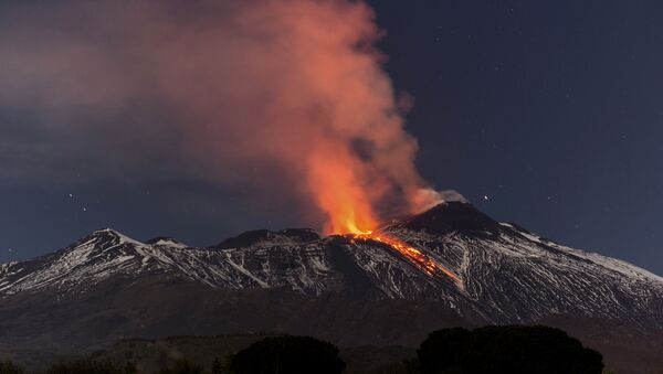 Etna en éruption - Sputnik France