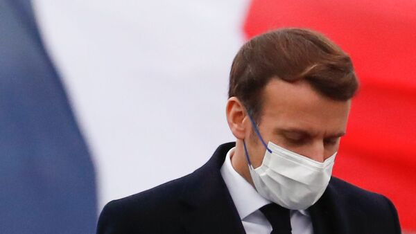 Emmanuel Macron à Brest, le 19 janvier 2021 - Sputnik France