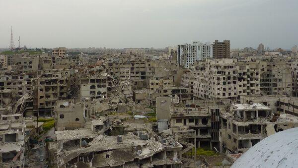 La ville syrienne de Homs (archive photo) - Sputnik France