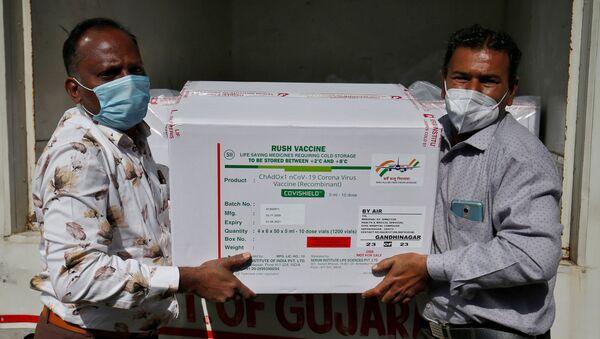 Production du vaccin par le Serum Institute of India - Sputnik France