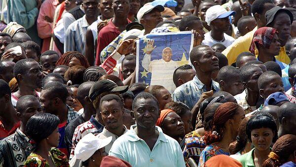 La population rend un dernier hommage à Laurent-Désiré Kabila, le 22 janvier 2001, Kinshasa - Sputnik France