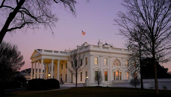 La Maison-Blanche le jour de l'investiture de Joe Biden - Sputnik France