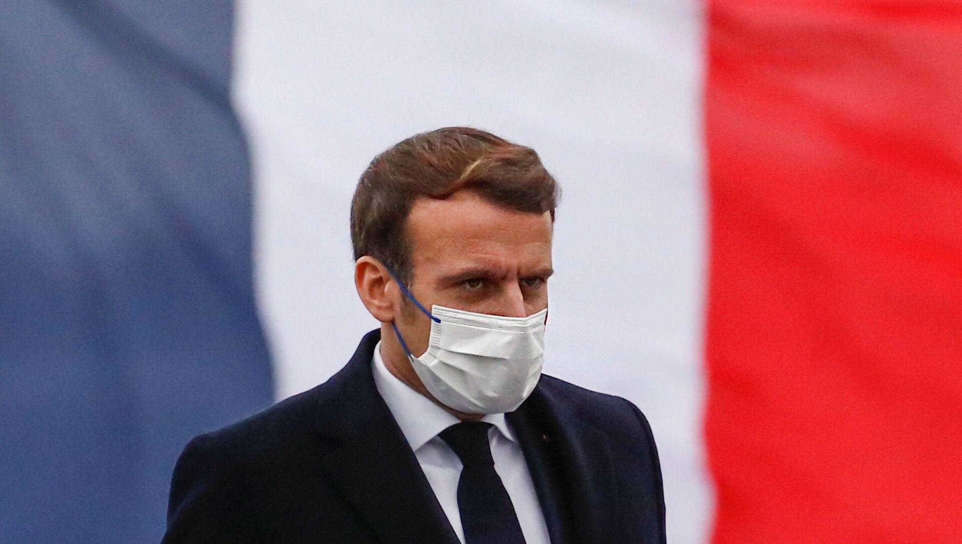Emmanuel Macron - Sputnik France, 1920, 05.02.2021
