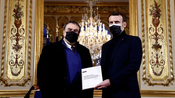 Emmanuel Macron et Benjamin Stora - Sputnik France