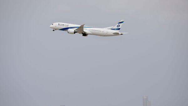 Un avion décolle de l'aéroport Ben Gourion - Sputnik France