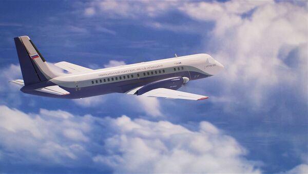Le nouvel avion russe Iliouchine Il-114-300 - Sputnik France