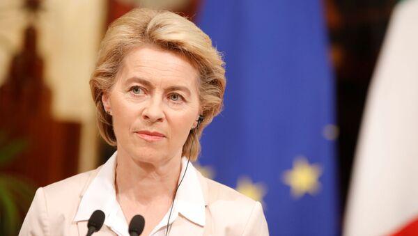 La présidente de la Commission européenne - Sputnik France