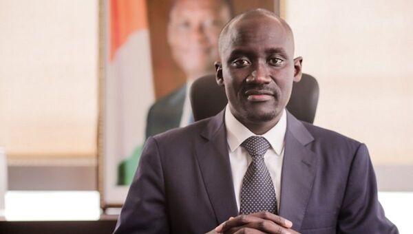 Abdourhamane Cissé, ministre du Pétrole, de l'Énergie et des Énergies renouvelables de la Côte d'Ivoire - Sputnik France