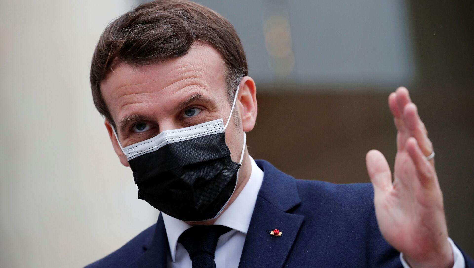 Emmanuel Macron - Sputnik France, 1920, 23.02.2021