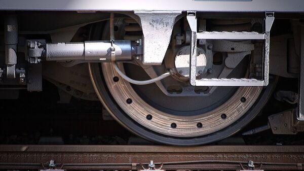 Roue de train (image d'illustration) - Sputnik France