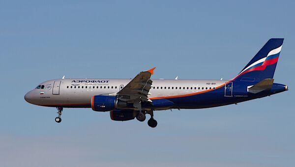Un Airbus A320 d'Aeroflot (archive photo) - Sputnik France