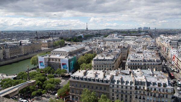 Vue de Paris depuis la Tour Saint-Jacques  - Sputnik France