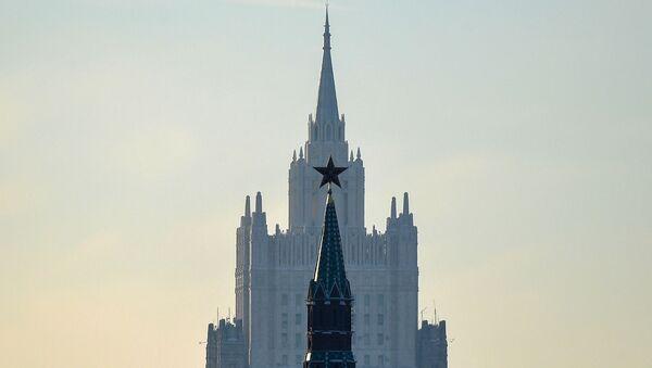Une vue du ministère des Affaires étrangères à Moscou - Sputnik France