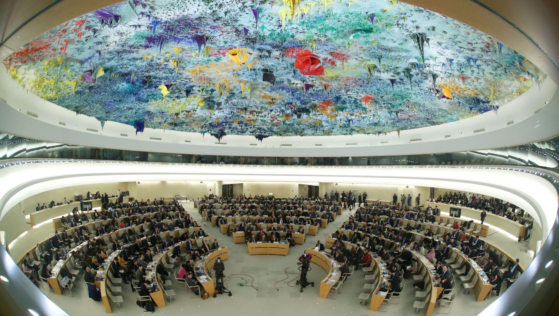 Le Conseil des droits de l'homme de l'ONU - Sputnik France, 1920, 04.03.2021