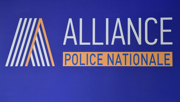 syndicat Alliance Police, logo - Sputnik France